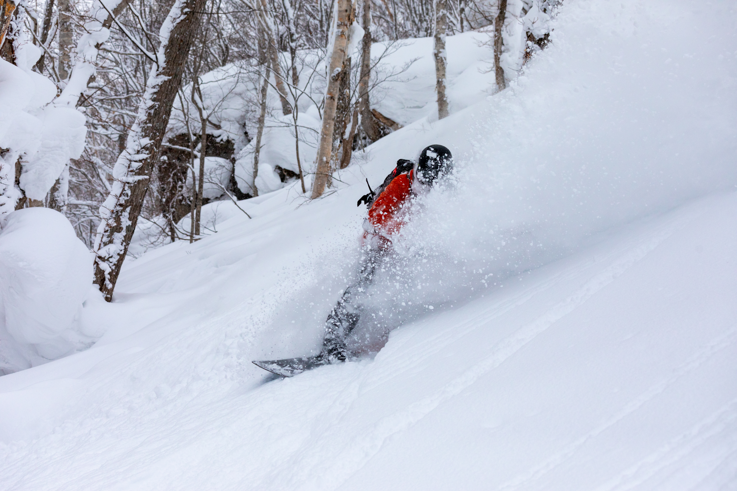 Andi Baumann, Splitboard, Snowboard, Japan, Niseko, Hokkaido